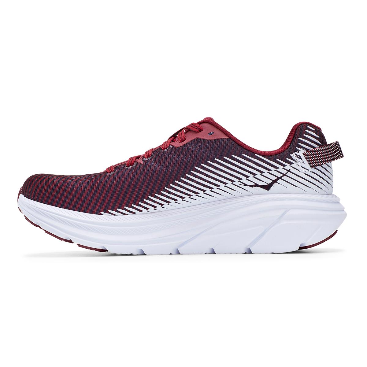 Women's Hoka One One Rincon 2 Running Shoe - Color: Cordovan/White - Size: 5 - Width: Regular, Cordovan/White, large, image 6