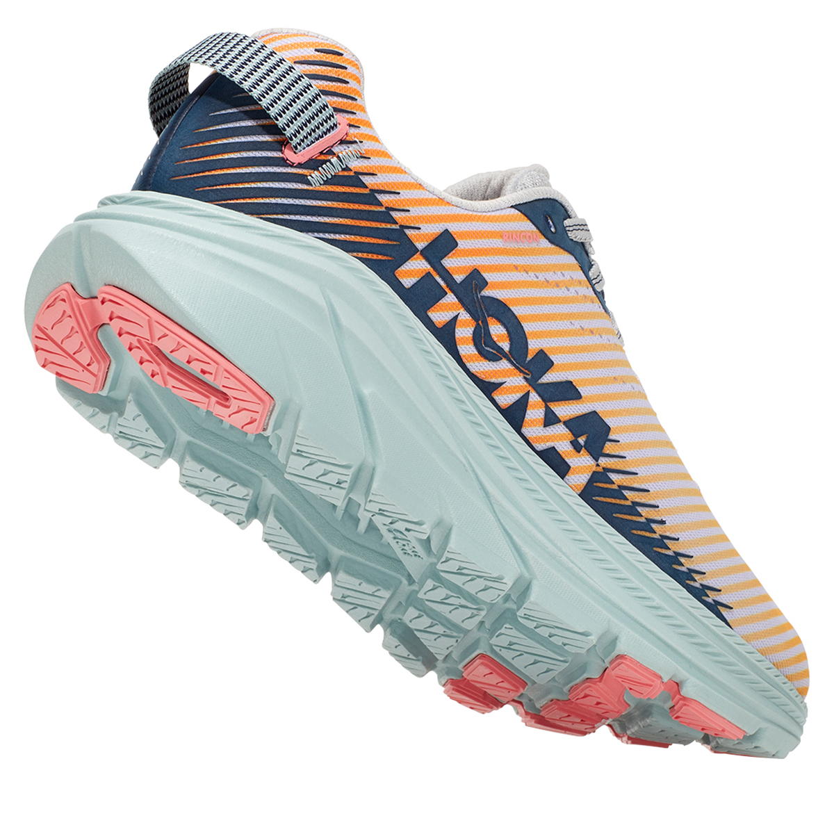 Women's Hoka One One Rincon 2 Running Shoe - Color: Lunar Rock/Black Iris - Size: 7 - Width: Regular, Lunar Rock/Black Iris, large, image 5