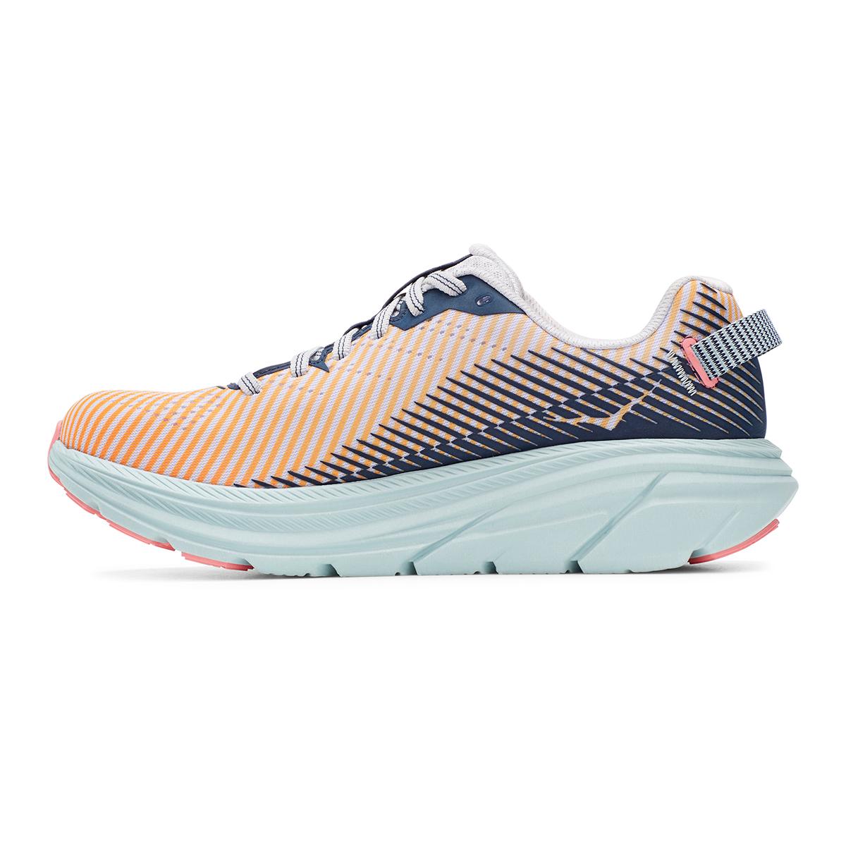 Women's Hoka One One Rincon 2 Running Shoe - Color: Lunar Rock/Black Iris - Size: 7 - Width: Regular, Lunar Rock/Black Iris, large, image 6