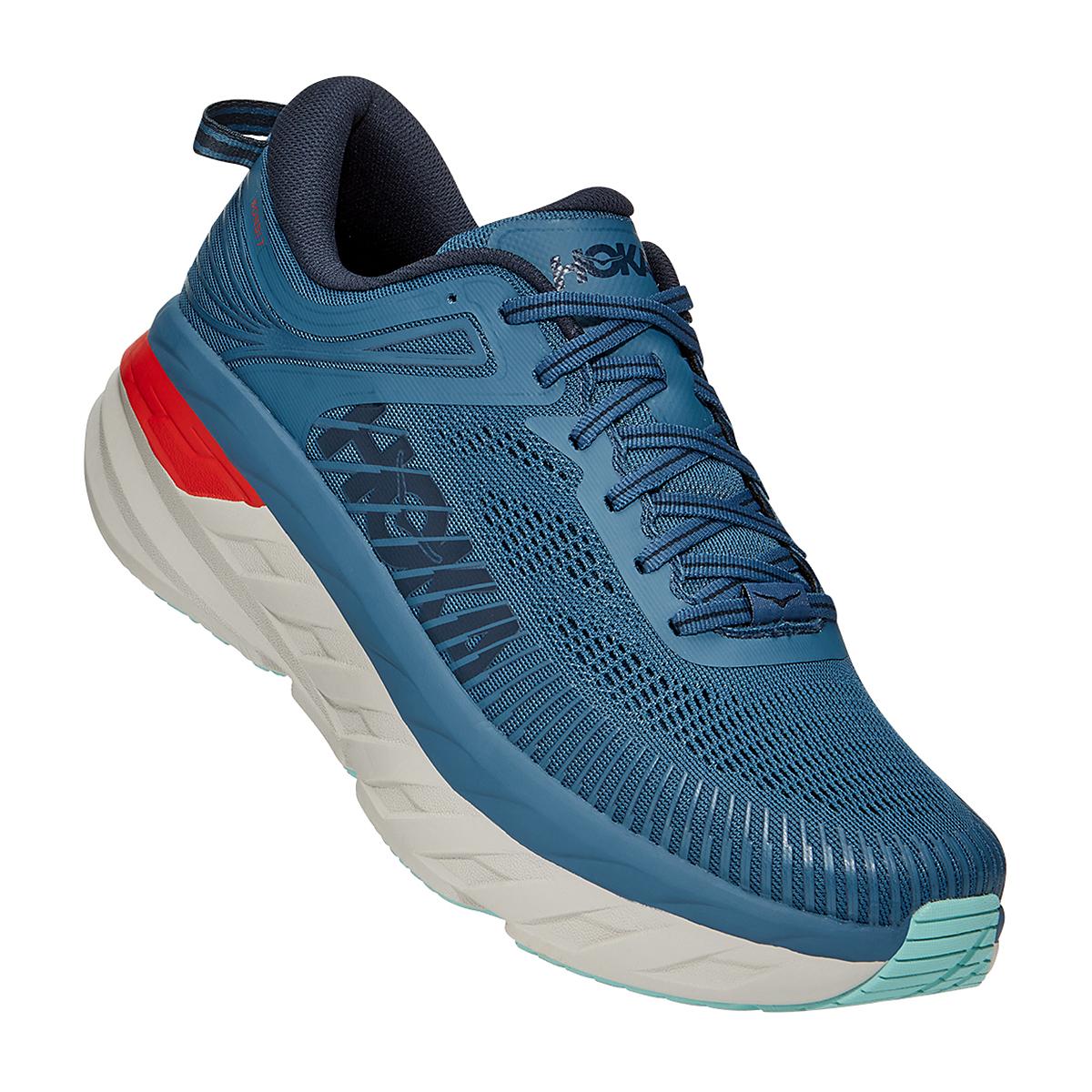 Men's Hoka One One Bondi 7 Running Shoe, , large, image 3