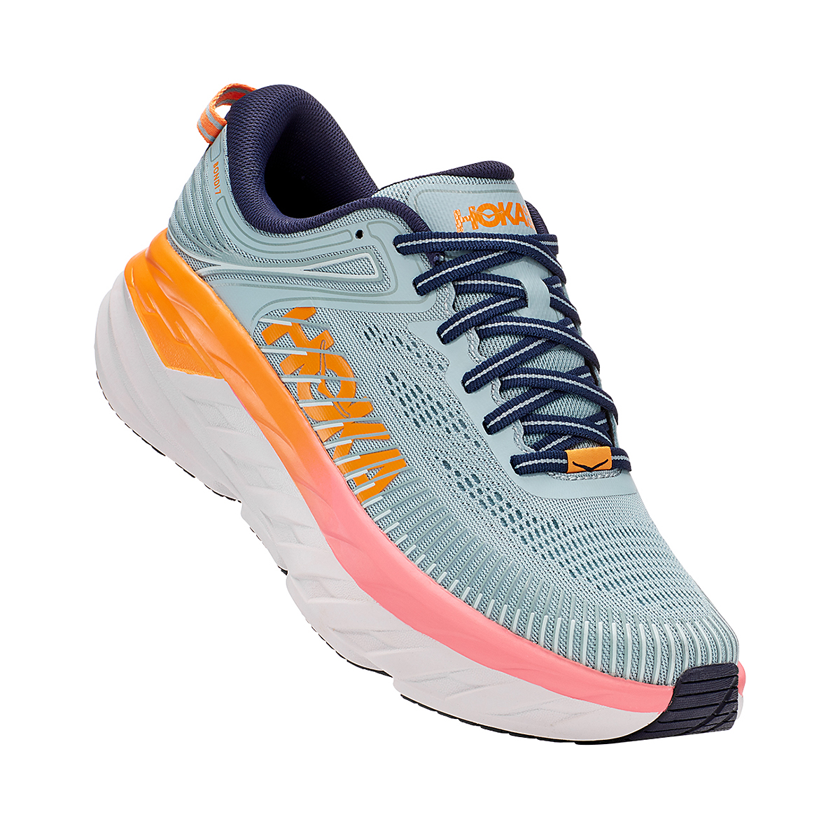 Women's Hoka One One Bondi 7 Running Shoe, , large, image 3
