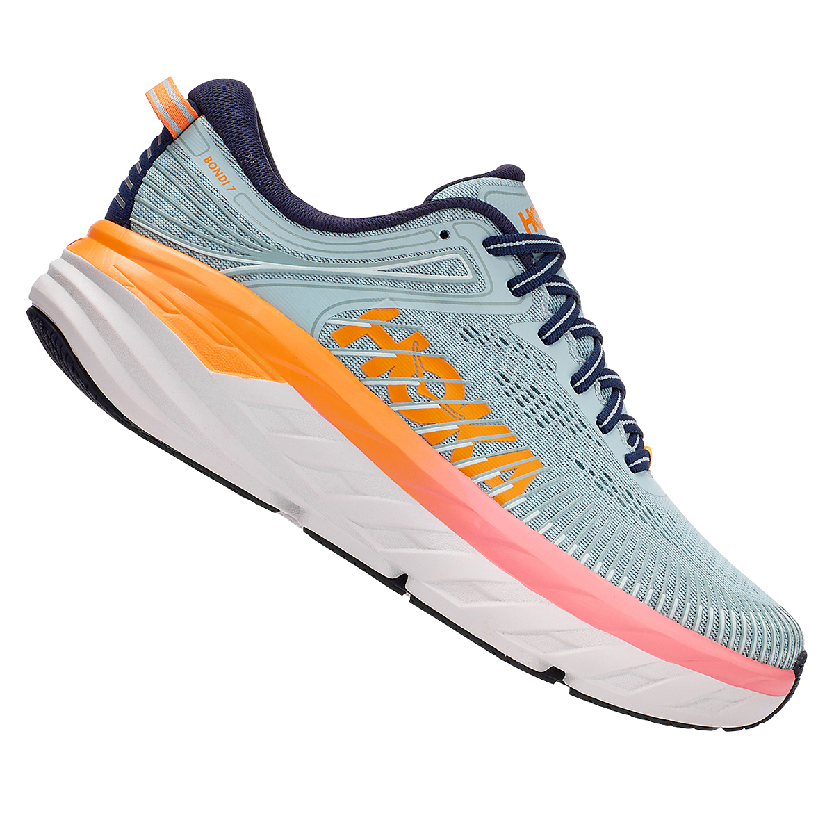 Women's Hoka One One Bondi 7 Running Shoe, , large, image 4