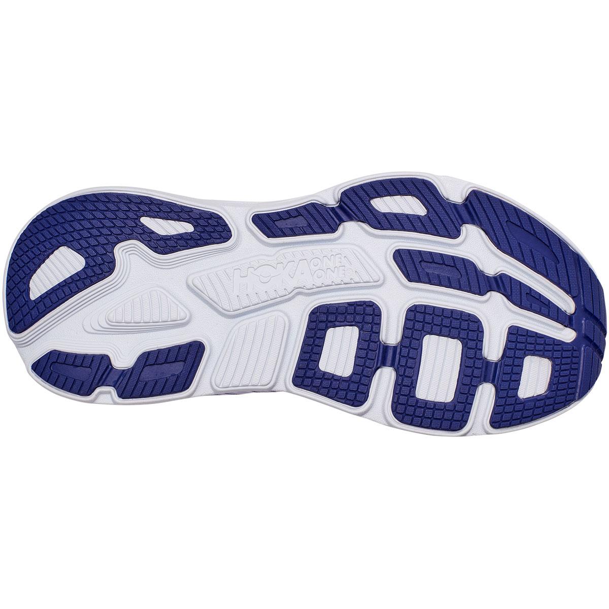 Women's Hoka One One Bondi 7 Running Shoe - Color: Purple Heather/Clematis Blue - Size: 5 - Width: Regular, Purple Heather/Clematis Blue, large, image 3