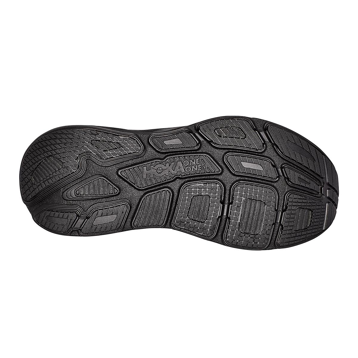 Men's Hoka One One Bondi 7 Running Shoe - Color: Black - Size: 7.5 - Width: Regular, Black, large, image 6