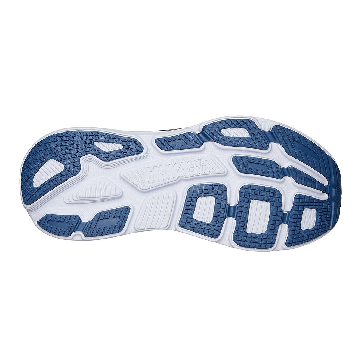 Men's Hoka One One Bondi 7 Running Shoe - Color: Ombre Blue/Provincial Blue - Size: 7 - Width: Regular, Ombre Blue/Provincial Blue, large, image 6