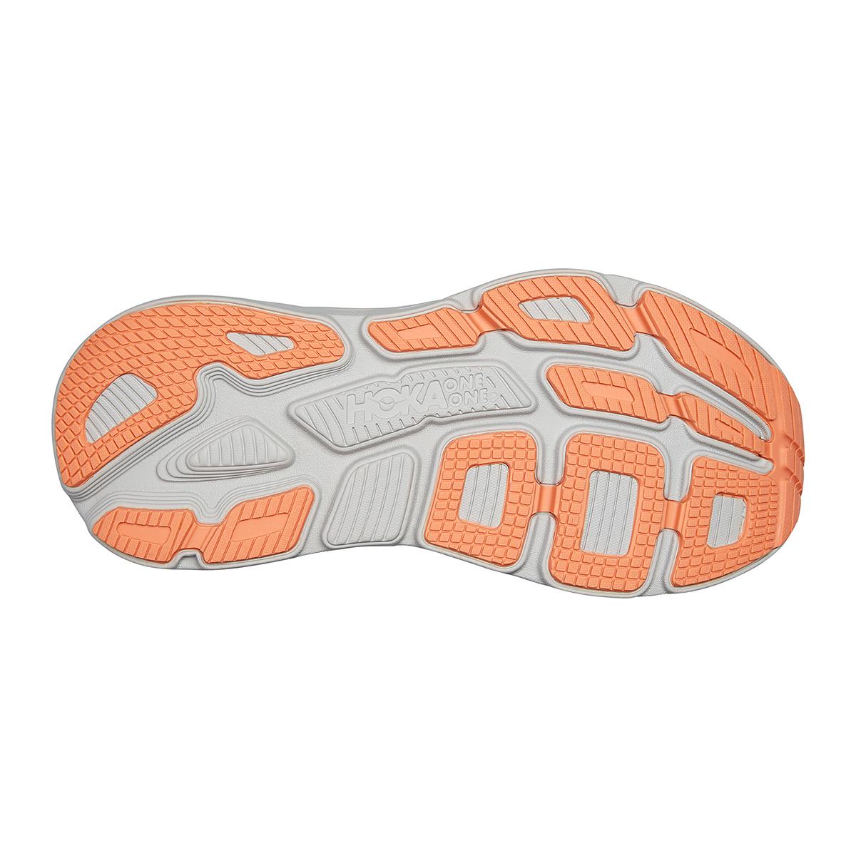 Women's Hoka One One Bondi 7 Running Shoe - Color: Harbor Mist/Sharkskin - Size: 5 - Width: Regular, Harbor Mist/Sharkskin, large, image 6