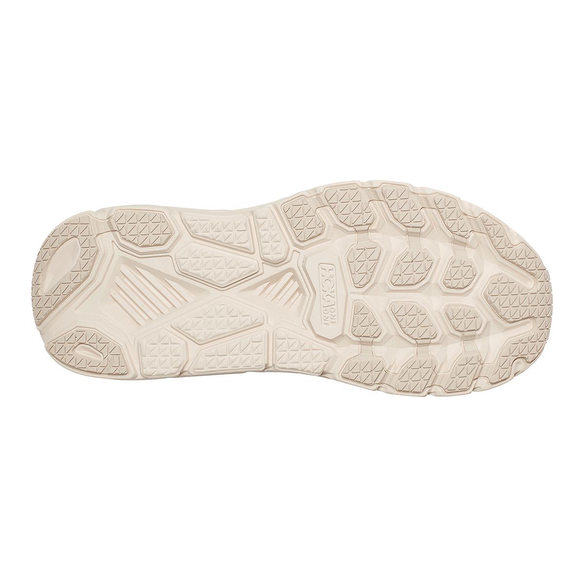 Women's Hoka One One Clifton 7 Running Shoe - Color: Almond Milk/Bronze - Size: 5 - Width: Regular, Almond Milk/Bronze, large, image 6
