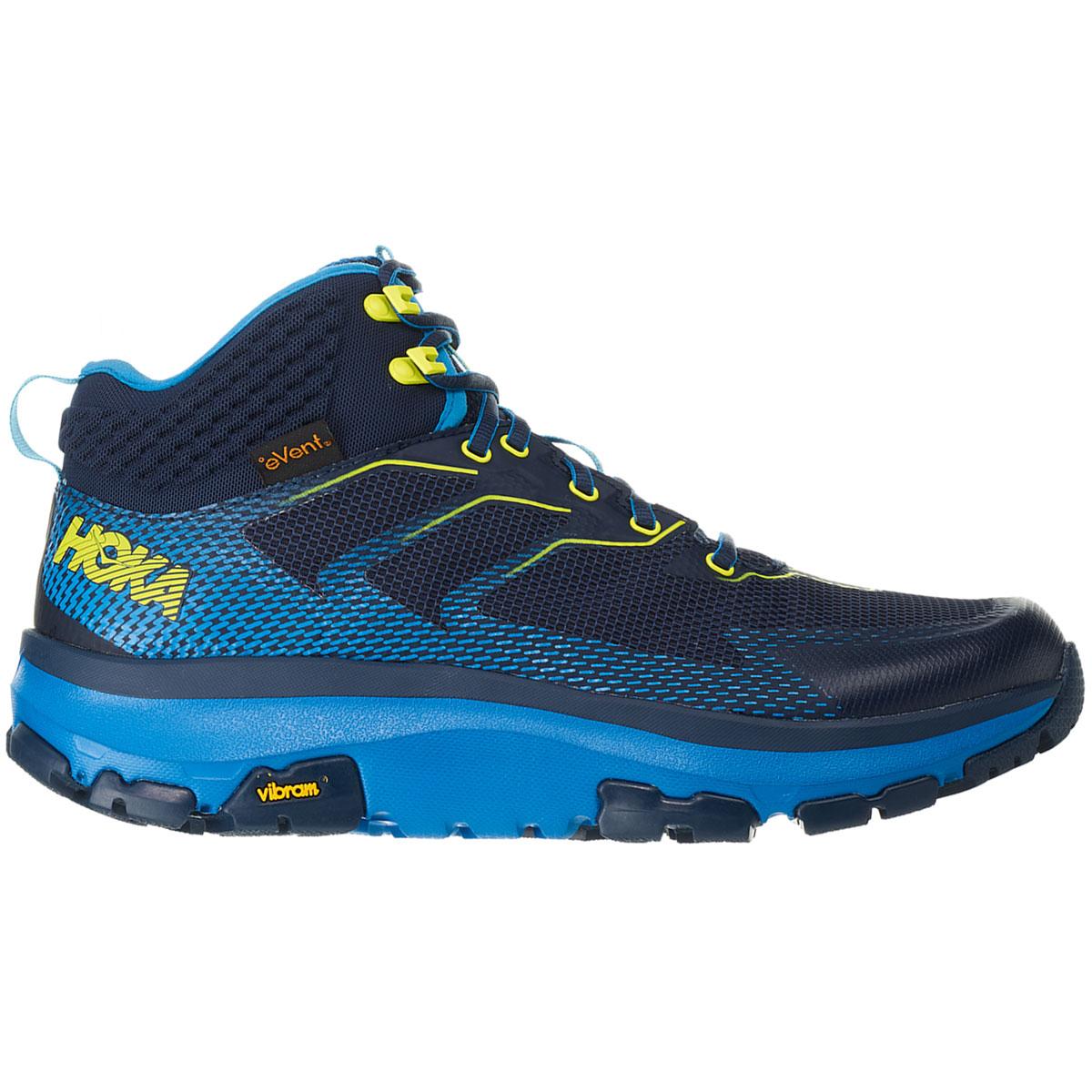 Men's Hoka One One Sky Toa Gore-Tex Trail Running Shoe - Color: Black Iris/Blue - Size: 7 - Width: Regular, Black Iris/Blue, large, image 1