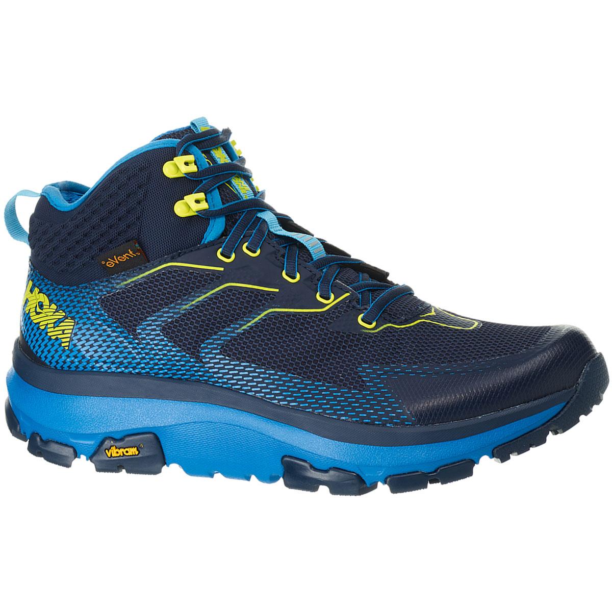 Men's Hoka One One Sky Toa Gore-Tex Trail Running Shoe - Color: Black Iris/Blue - Size: 7 - Width: Regular, Black Iris/Blue, large, image 2
