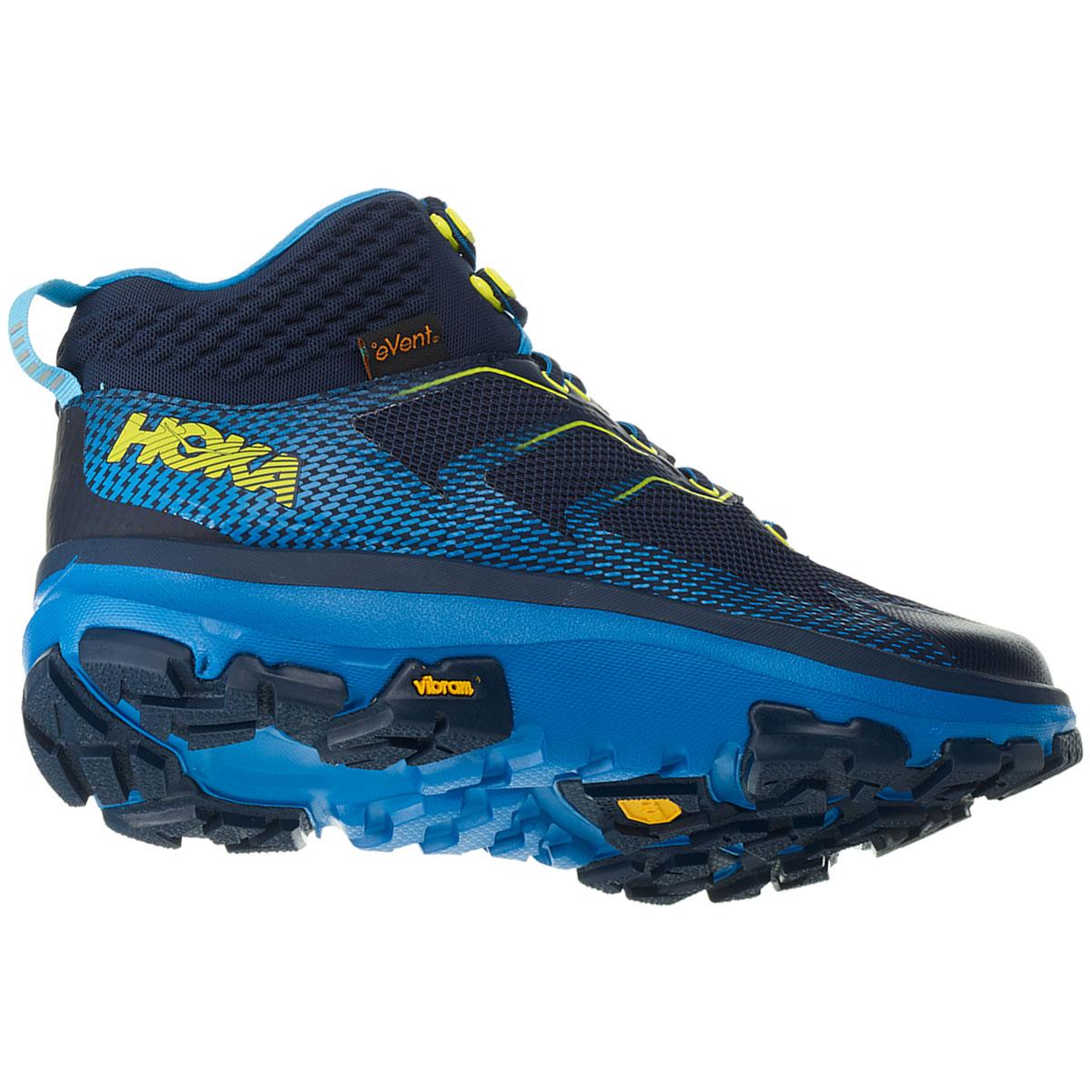 Men's Hoka One One Sky Toa Gore-Tex Trail Running Shoe - Color: Black Iris/Blue - Size: 7 - Width: Regular, Black Iris/Blue, large, image 3