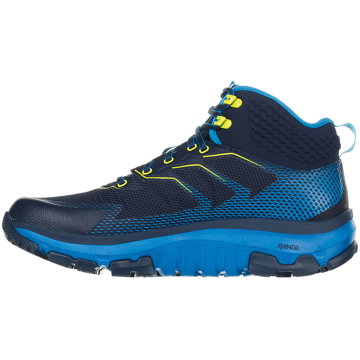 Men's Hoka One One Sky Toa Gore-Tex Trail Running Shoe - Color: Black Iris/Blue - Size: 7 - Width: Regular, Black Iris/Blue, large, image 4