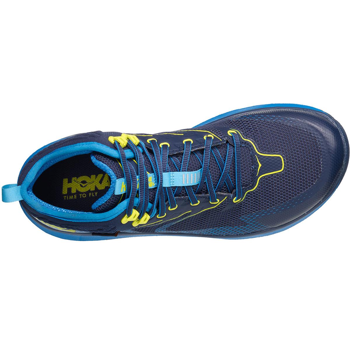 Men's Hoka One One Sky Toa Gore-Tex Trail Running Shoe - Color: Black Iris/Blue - Size: 7 - Width: Regular, Black Iris/Blue, large, image 5