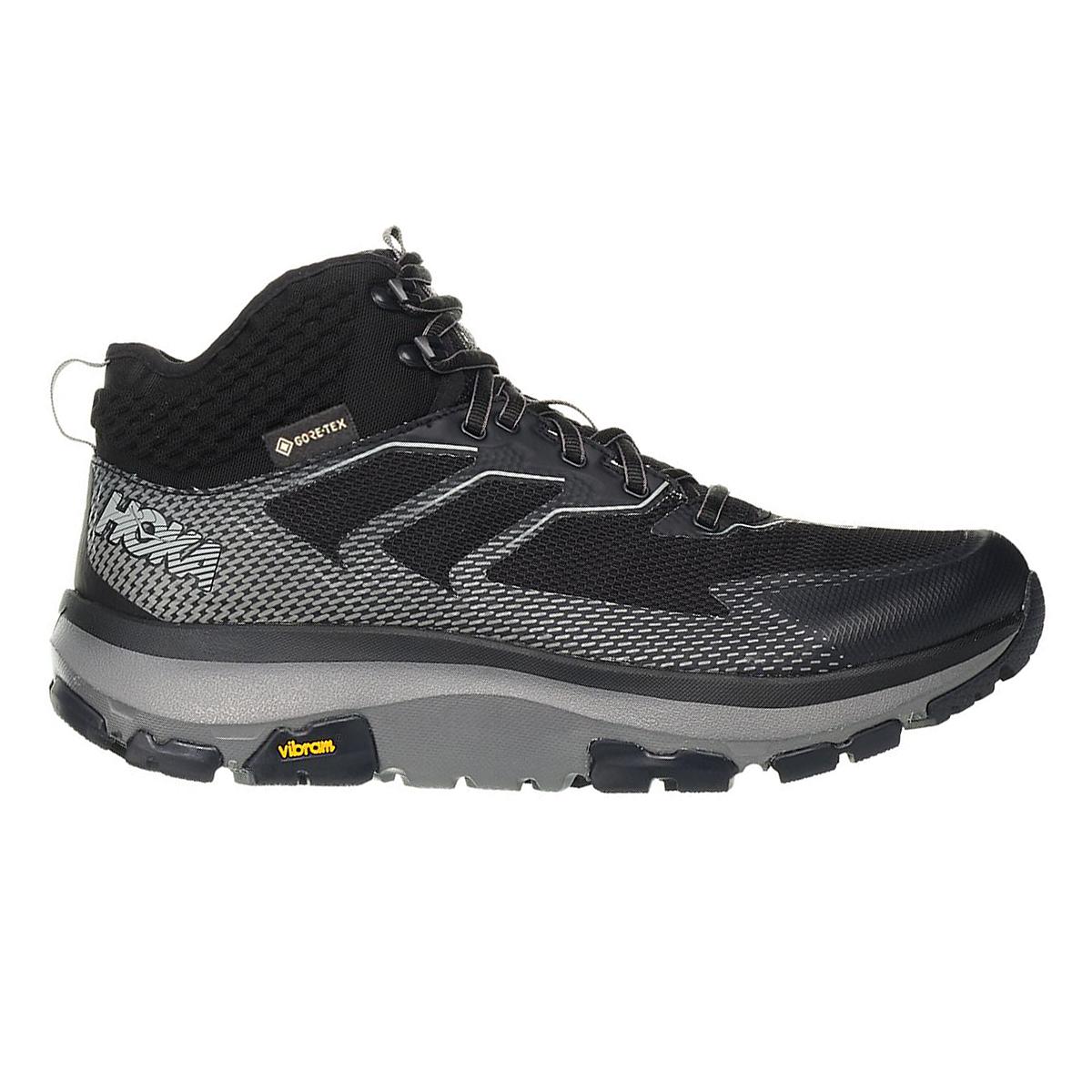 Men's Hoka One One Sky Toa Gore-Tex Trail Running Shoe - Color: Phantom - Size: 7 - Width: Regular, Phantom, large, image 1