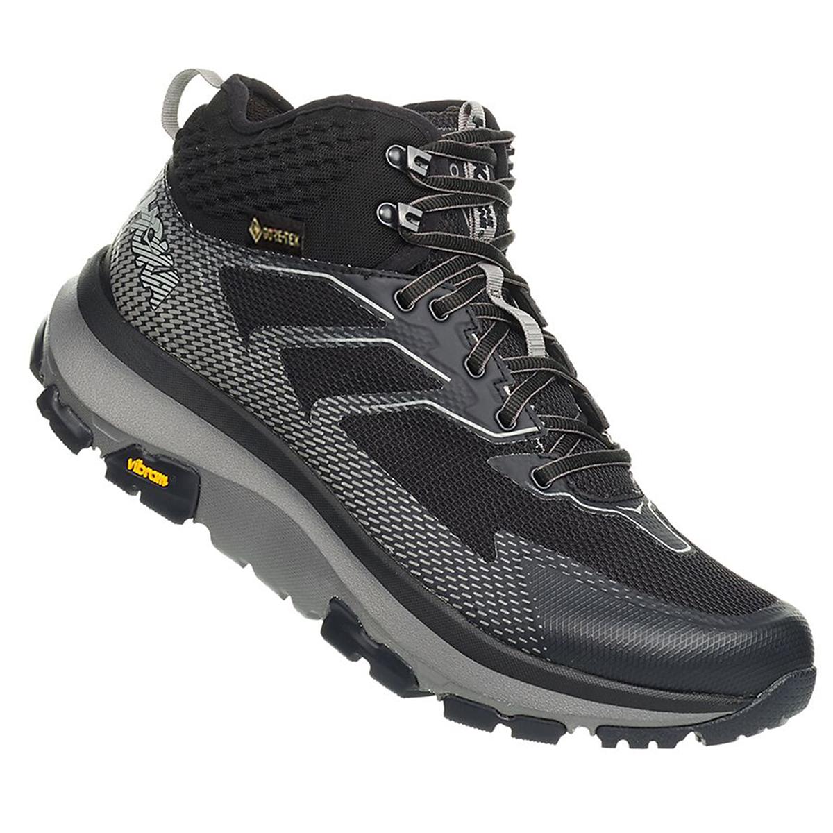 Men's Hoka One One Sky Toa Gore-Tex Trail Running Shoe - Color: Phantom - Size: 7 - Width: Regular, Phantom, large, image 5