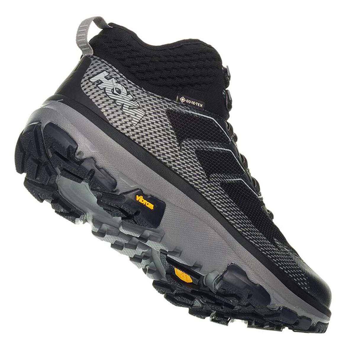 Men's Hoka One One Sky Toa Gore-Tex Trail Running Shoe - Color: Phantom - Size: 7 - Width: Regular, Phantom, large, image 6