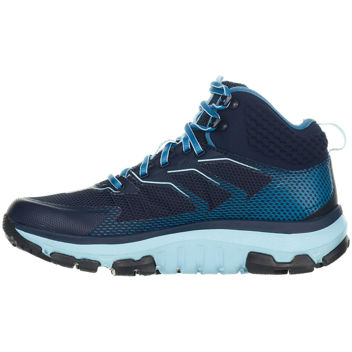 Women's Hoka One One Sky Toa Gore-Tex Trail Running Shoe - Color: Black Iris/Aquamarine - Size: 5 - Width: Regular, Black Iris/Aquamarine, large, image 4