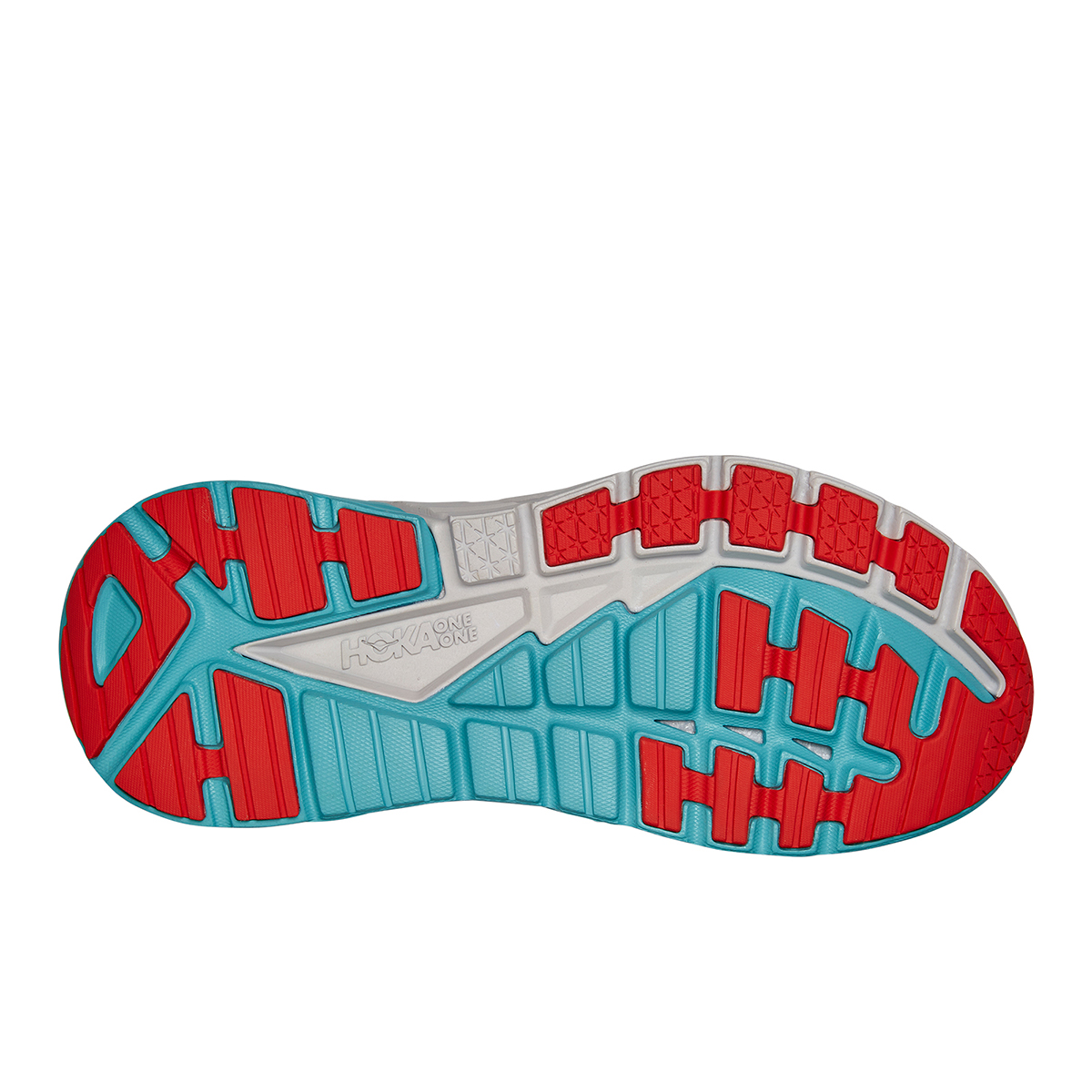 Men's Hoka One One Gaviota 3 Running Shoe - Color: Real Teal / Aquarelle - Size: 7 - Width: Regular, Real Teal / Aquarelle, large, image 4