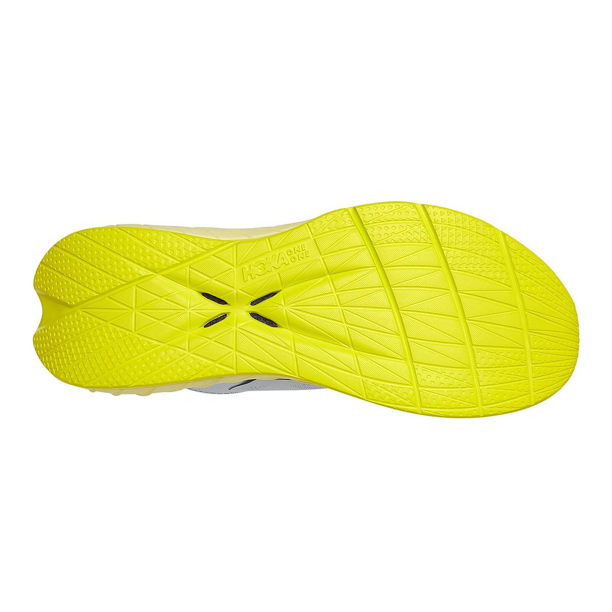 Women's Hoka One One Carbon X 2 Running Shoe - Color: Blue Flower/Luminary Green - Size: 5 - Width: Regular, Blue Flower/Luminary Green, large, image 6