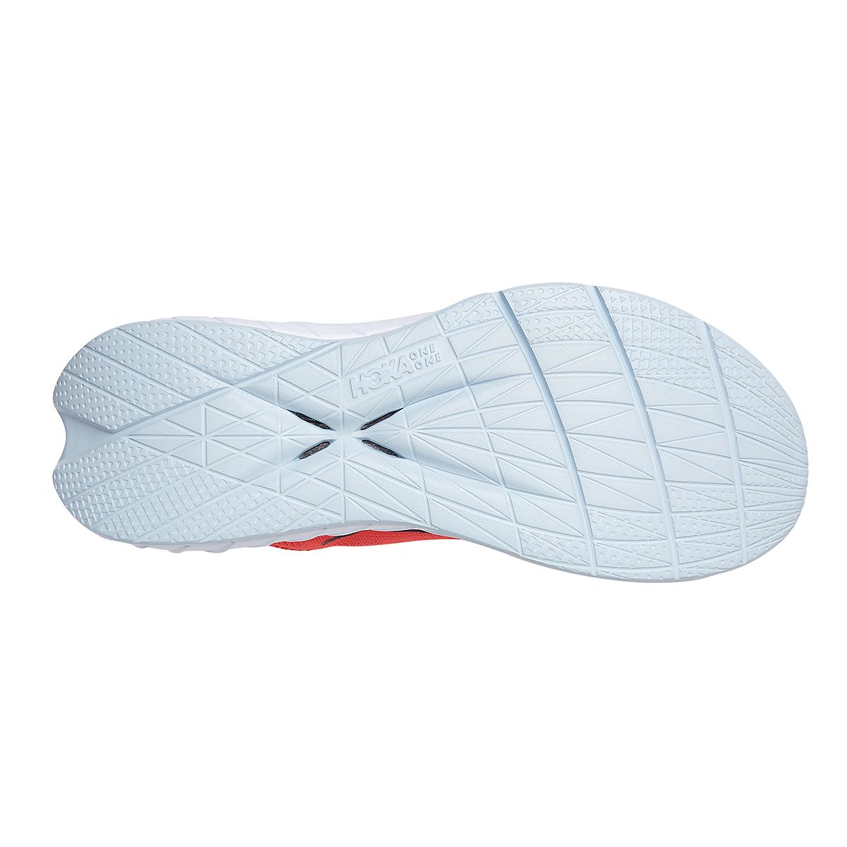 Women's Hoka One One Carbon X 2 Running Shoe - Color: Hot Coral/Black Iris - Size: 5 - Width: Regular, Hot Coral/Black Iris, large, image 6