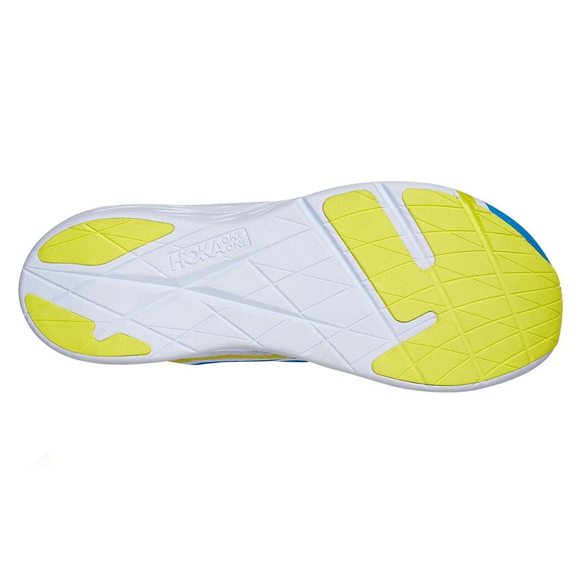 Hoka One One Rocket X Running Shoe - Color: White/Diva Blue - Size: M5/W6 - Width: Regular, White/Diva Blue, large, image 4