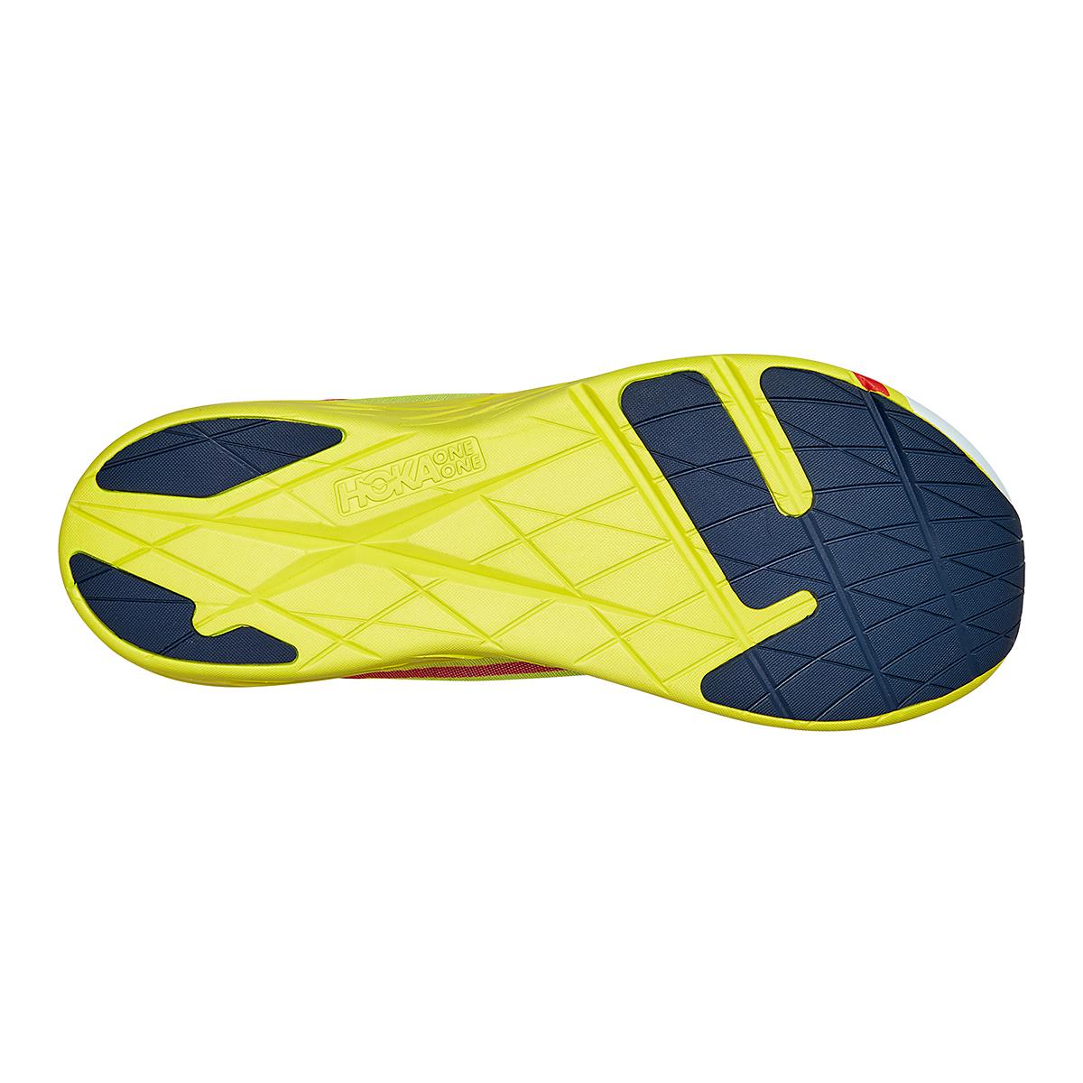 Men's Hoka One One Rocket X Running Shoe - Color: White/Evening Primrose - Size: 8.5 - Width: Regular, White/Evening Primrose, large, image 6