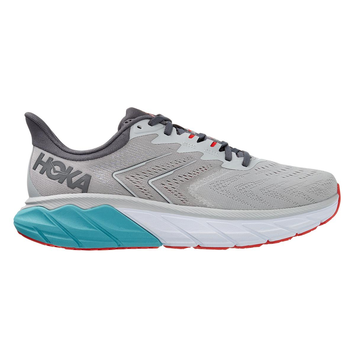 Men's Hoka One One Arahi 5 Running Shoe - Color: Harbor Mist / Aquarelle - Size: 7 - Width: Regular, Harbor Mist / Aquarelle, large, image 1