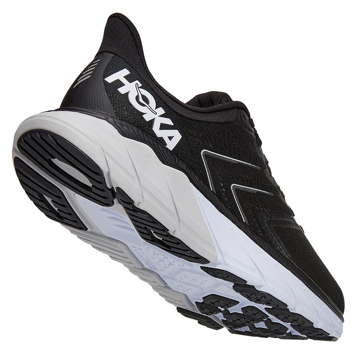 Men's Hoka One One Arahi 5 Running Shoe - Color: Black/White - Size: 7 - Width: Regular, Black/White, large, image 3