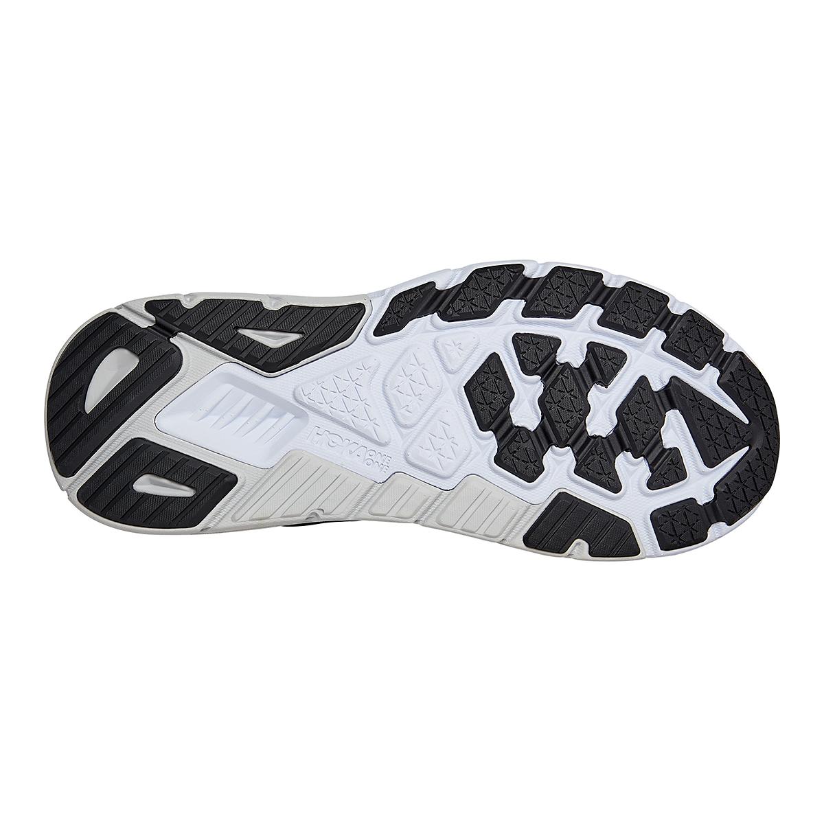 Men's Hoka One One Arahi 5 Running Shoe - Color: Black/White - Size: 7 - Width: Regular, Black/White, large, image 6
