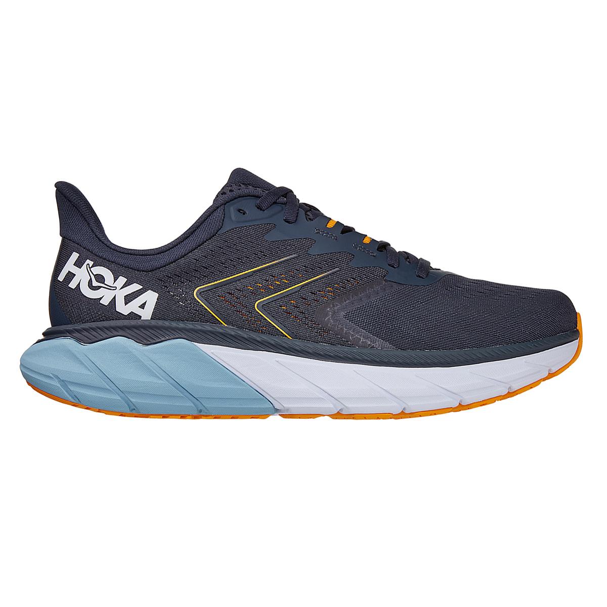 Men's Hoka One One Arahi 5 Running Shoe - Color: Ombre Blue/Blue Fog - Size: 8.5 - Width: Regular, Ombre Blue/Blue Fog, large, image 1