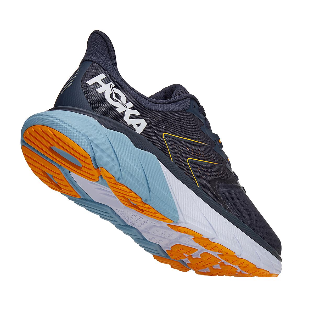 Men's Hoka One One Arahi 5 Running Shoe - Color: Ombre Blue/Blue Fog - Size: 8.5 - Width: Regular, Ombre Blue/Blue Fog, large, image 3