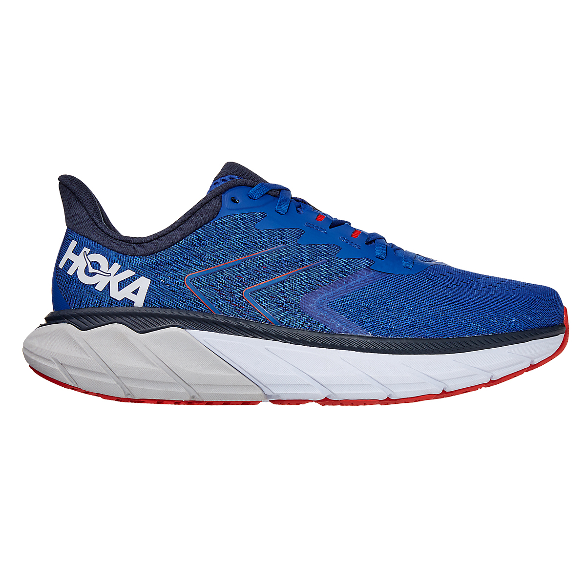 Men's Hoka One One Arahi 5 Running Shoe - Color: Turkish Sea/White - Size: 7 - Width: Regular, Turkish Sea/White, large, image 1