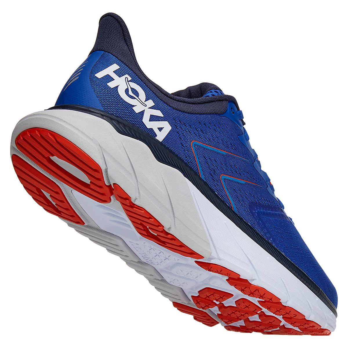 Men's Hoka One One Arahi 5 Running Shoe - Color: Turkish Sea/White - Size: 7 - Width: Regular, Turkish Sea/White, large, image 3