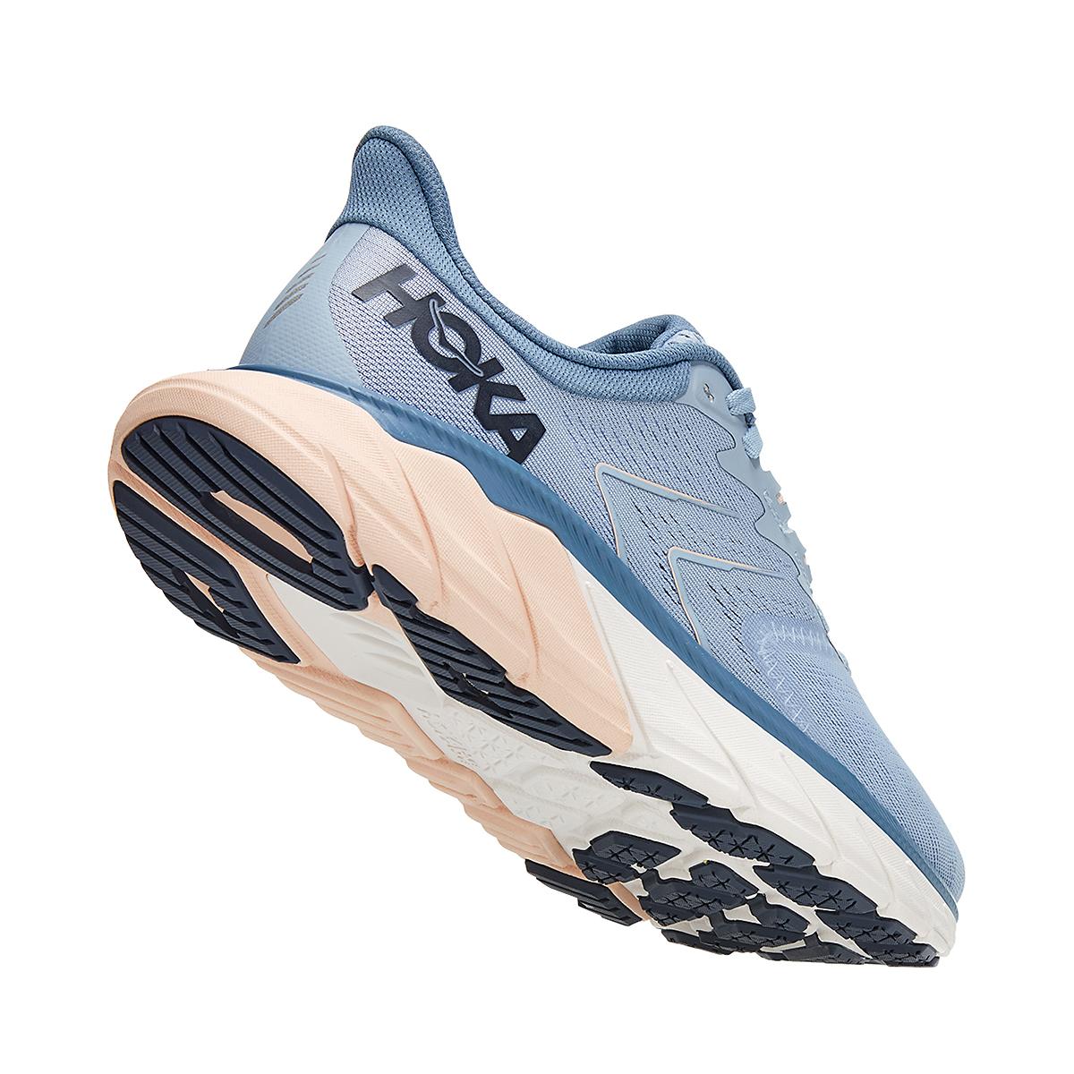 Women's Hoka One One Arahi 5 Running Shoe - Color: Blue Fog/Provincial Blue - Size: 5 - Width: Regular, Blue Fog/Provincial Blue, large, image 3