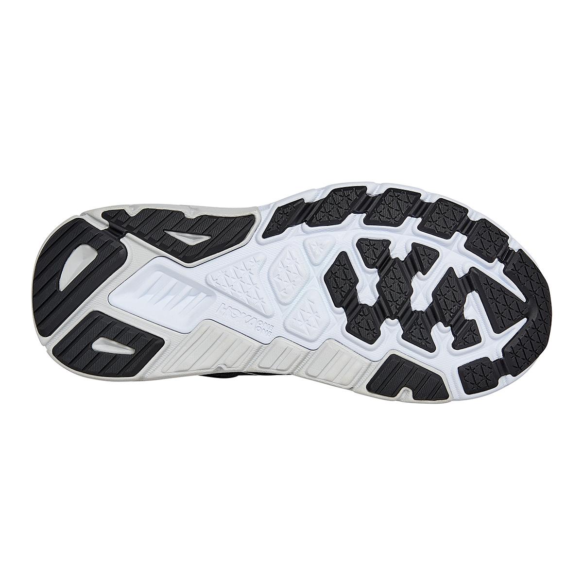 Women's Hoka One One Arahi 5 Running Shoe - Color: Black/White - Size: 5 - Width: Regular, Black/White, large, image 6