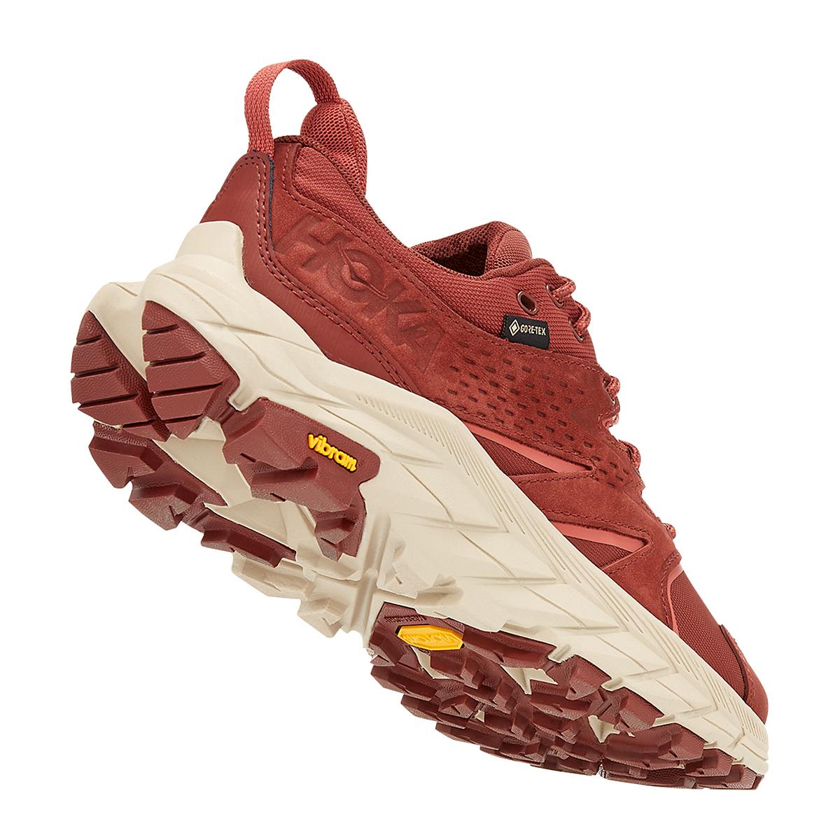 Women's Hoka One One Anacapa Low Gore-Tex Trail Running Shoe - Color: Cherry Mahogany - Size: 5 - Width: Regular, Cherry Mahogany, large, image 3