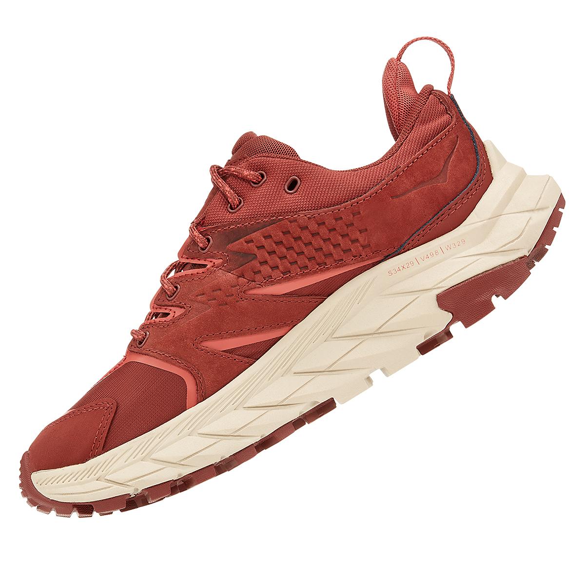 Women's Hoka One One Anacapa Low Gore-Tex Trail Running Shoe - Color: Cherry Mahogany - Size: 5 - Width: Regular, Cherry Mahogany, large, image 4