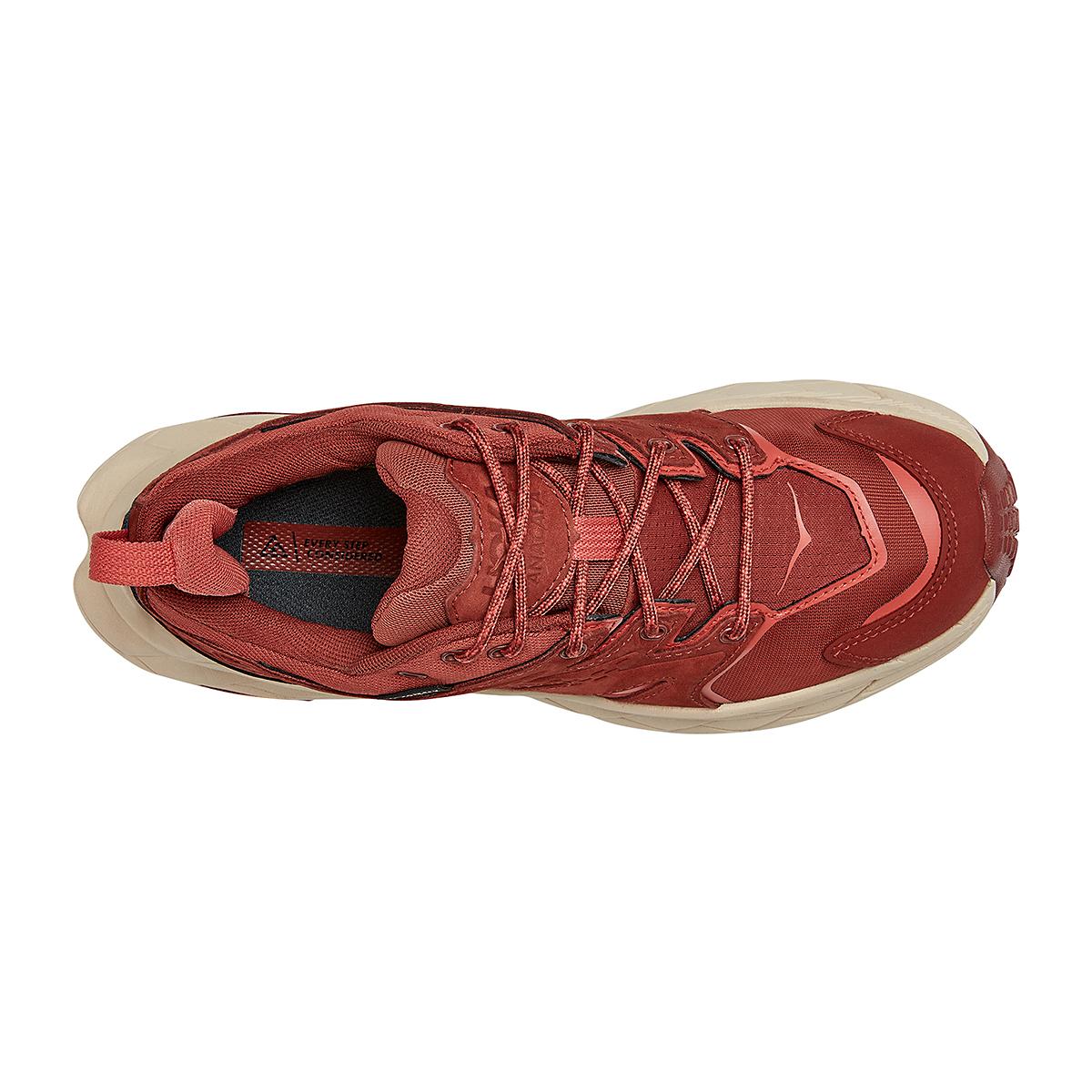 Women's Hoka One One Anacapa Low Gore-Tex Trail Running Shoe - Color: Cherry Mahogany - Size: 5 - Width: Regular, Cherry Mahogany, large, image 5