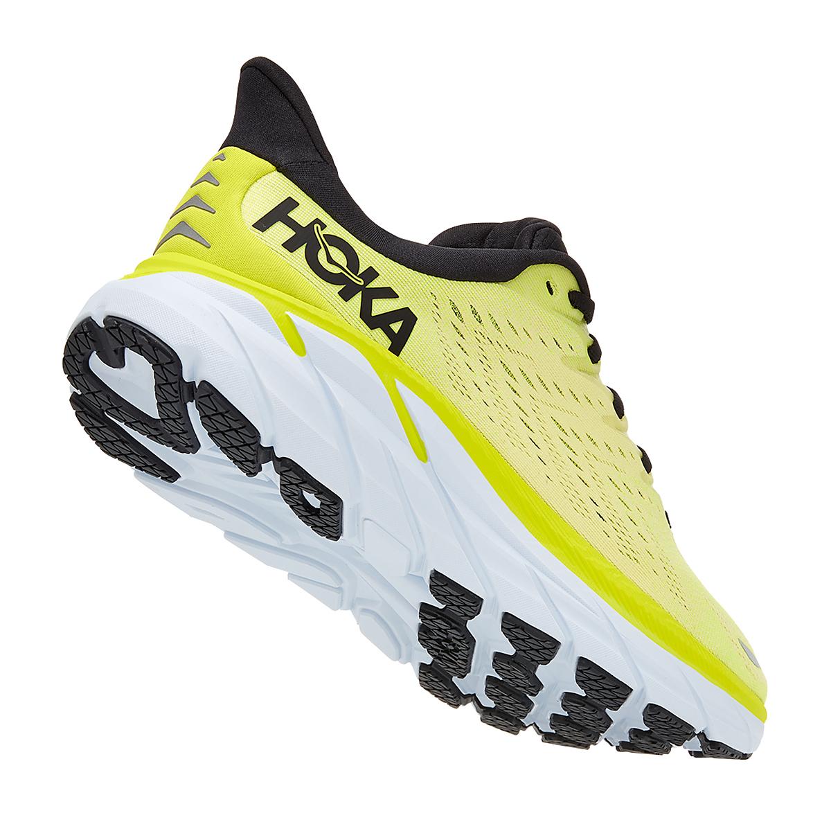 Men's Hoka One One Clifton 8 Running Shoe - Color: Evening Primrose/Charlock - Size: 7 - Width: Regular, Evening Primrose/Charlock, large, image 3