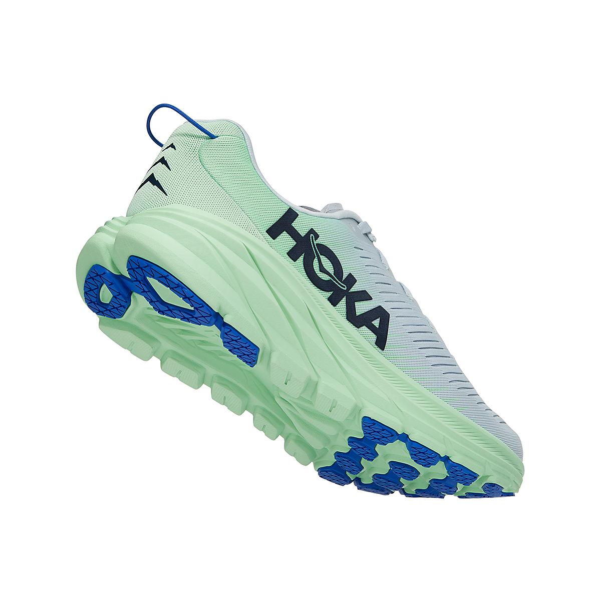 Men's Hoka One One Rincon 3 Running Shoe - Color: Plein Air/Green Ash - Size: 7 - Width: Regular, Plein Air/Green Ash, large, image 3