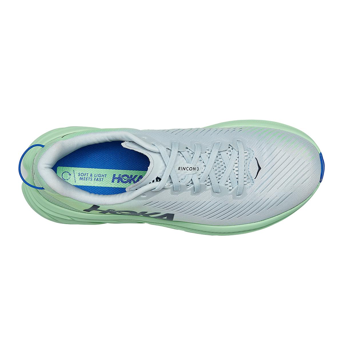 Men's Hoka One One Rincon 3 Running Shoe - Color: Plein Air/Green Ash - Size: 7 - Width: Regular, Plein Air/Green Ash, large, image 5
