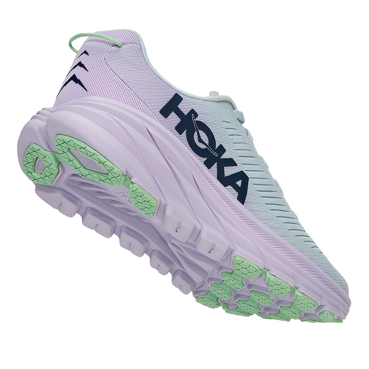 Women's Hoka One One Rincon 3 Running Shoe - Color: Plein Air/Orchid Hush - Size: 5 - Width: Regular, Plein Air/Orchid Hush, large, image 3