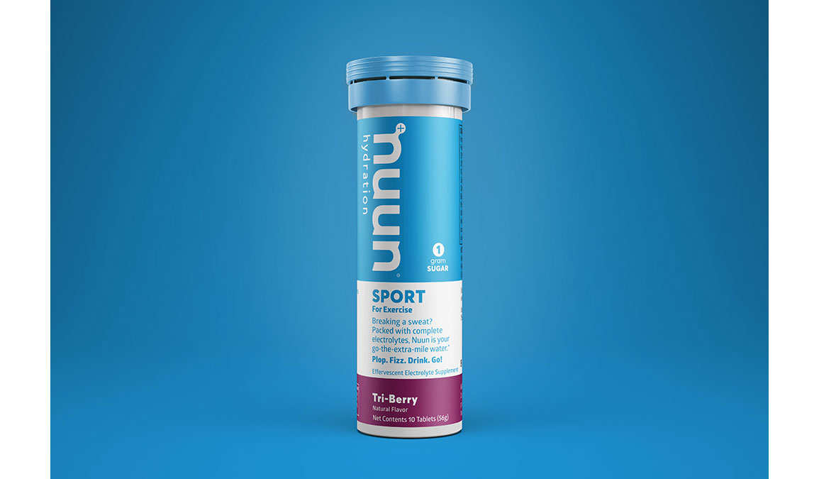 Nuun Sport Drink Tablets - Flavor: Tri-Berry - Size: Box of 8, Tri-Berry, large, image 1