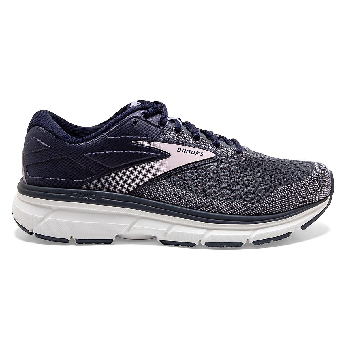 Women's Brooks Dyad 11 Running Shoe - Color: Ombre/Primrose  - Size: 6 - Width: Regular, Ombre/Primrose, large, image 1