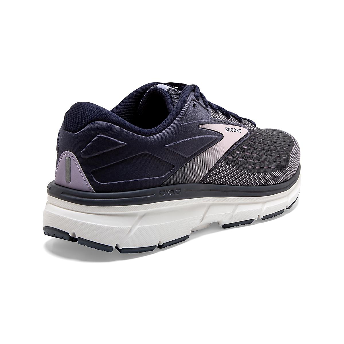 Women's Brooks Dyad 11 Running Shoe - Color: Ombre/Primrose  - Size: 6 - Width: Regular, Ombre/Primrose, large, image 4