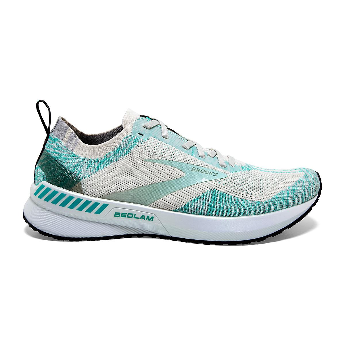 Women's Brooks Bedlam 3 Running Shoe - Color: Jet Stream/Atlantis/Antarctica - Size: 5 - Width: Regular, Jet Stream/Atlantis/Antarctica, large, image 1