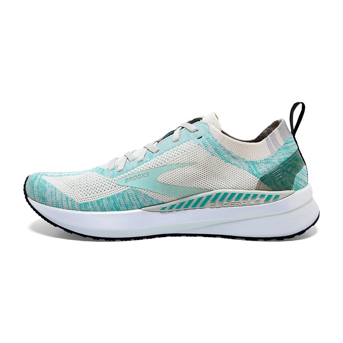 Women's Brooks Bedlam 3 Running Shoe - Color: Jet Stream/Atlantis/Antarctica - Size: 5 - Width: Regular, Jet Stream/Atlantis/Antarctica, large, image 2