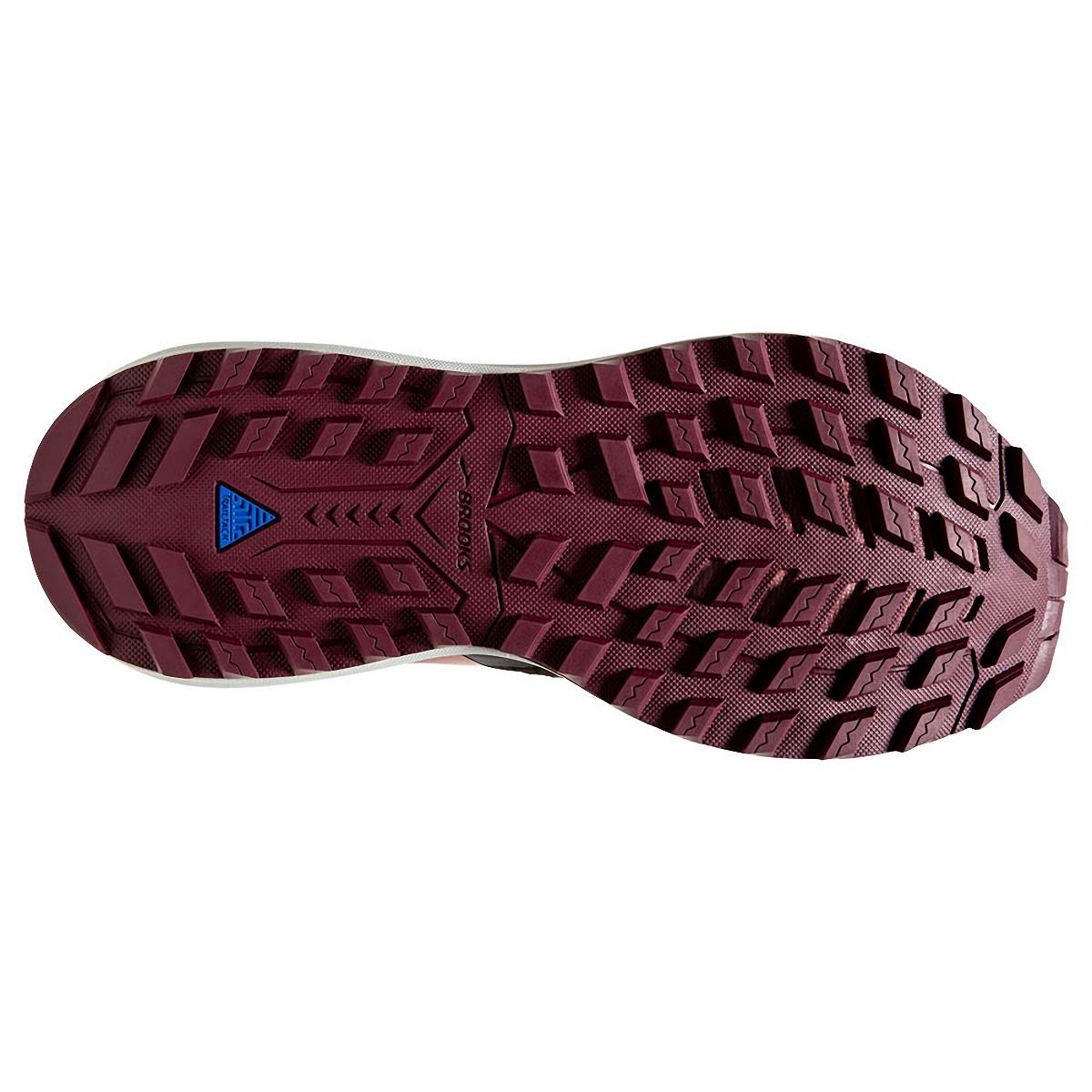Women's Brooks Cascadia 15 Trail Running Shoe - Color: Black/Ebony/Coral - Size: 10.5 - Width: Regular, Black/Ebony/Coral, large, image 6
