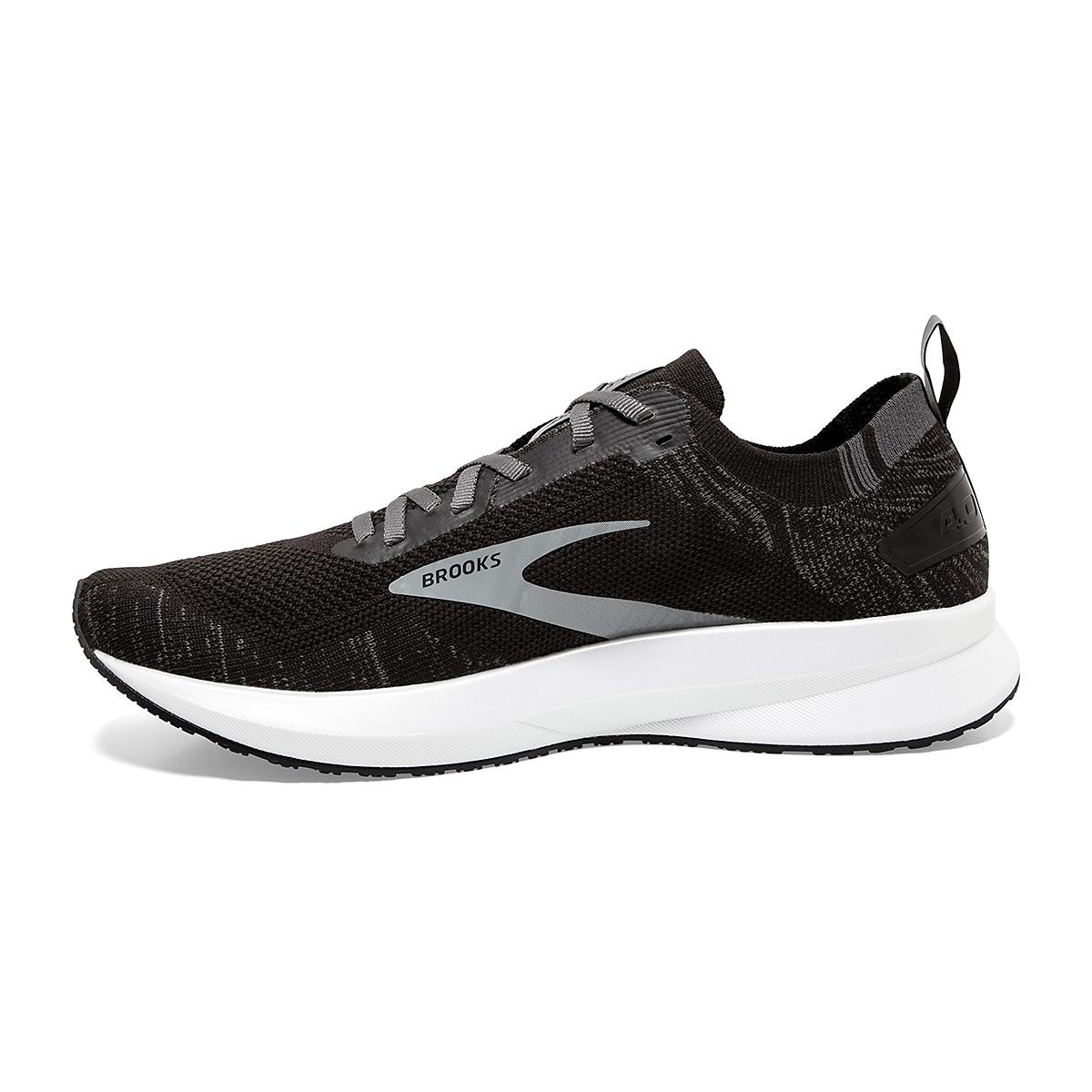 Women's Brooks Levitate 4 Running Shoe - Color: Black/Blackened Pearl/White - Size: 5.5 - Width: Regular, Black/Blackened Pearl/White, large, image 2