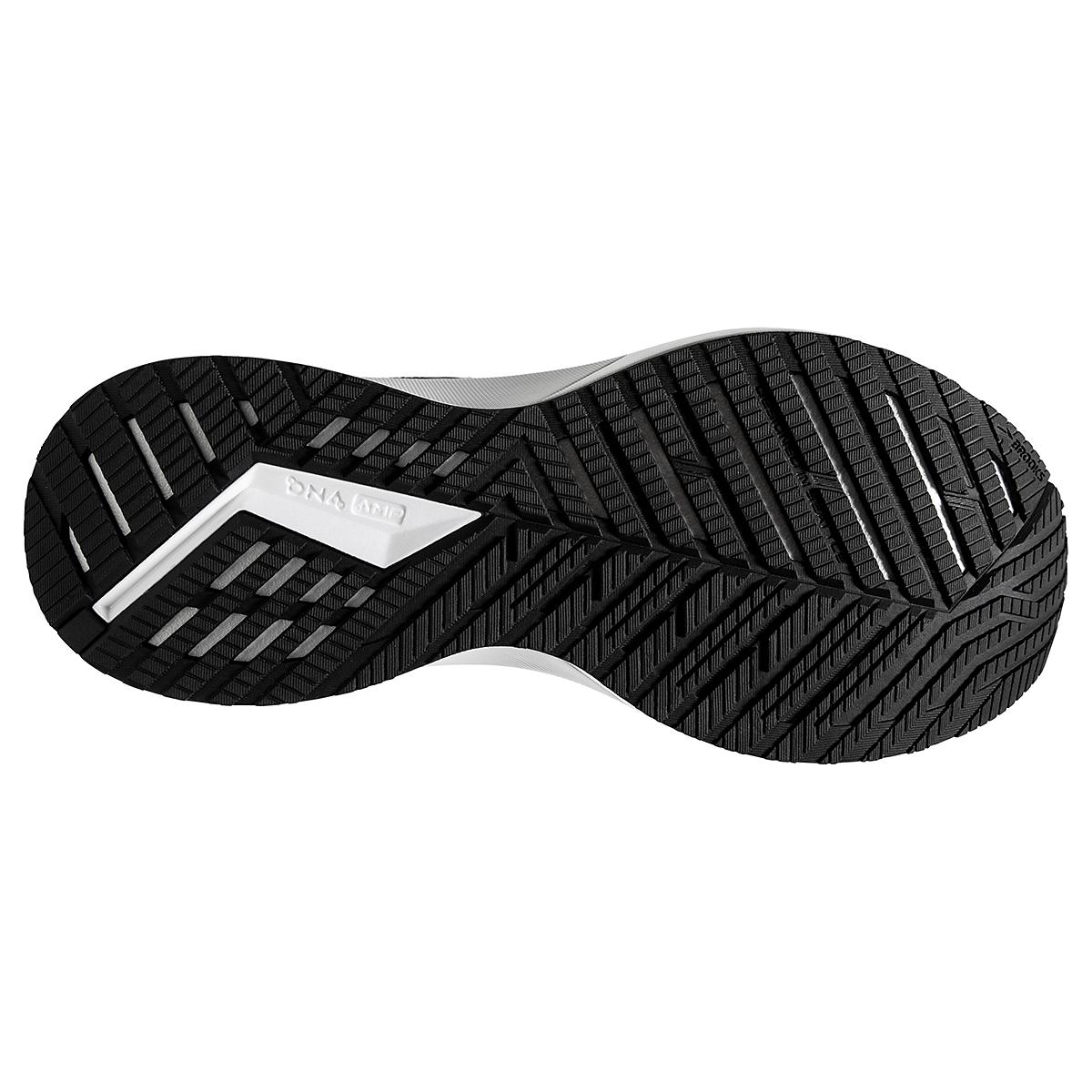 Women's Brooks Levitate 4 Running Shoe - Color: Black/Blackened Pearl/White - Size: 5.5 - Width: Regular, Black/Blackened Pearl/White, large, image 4
