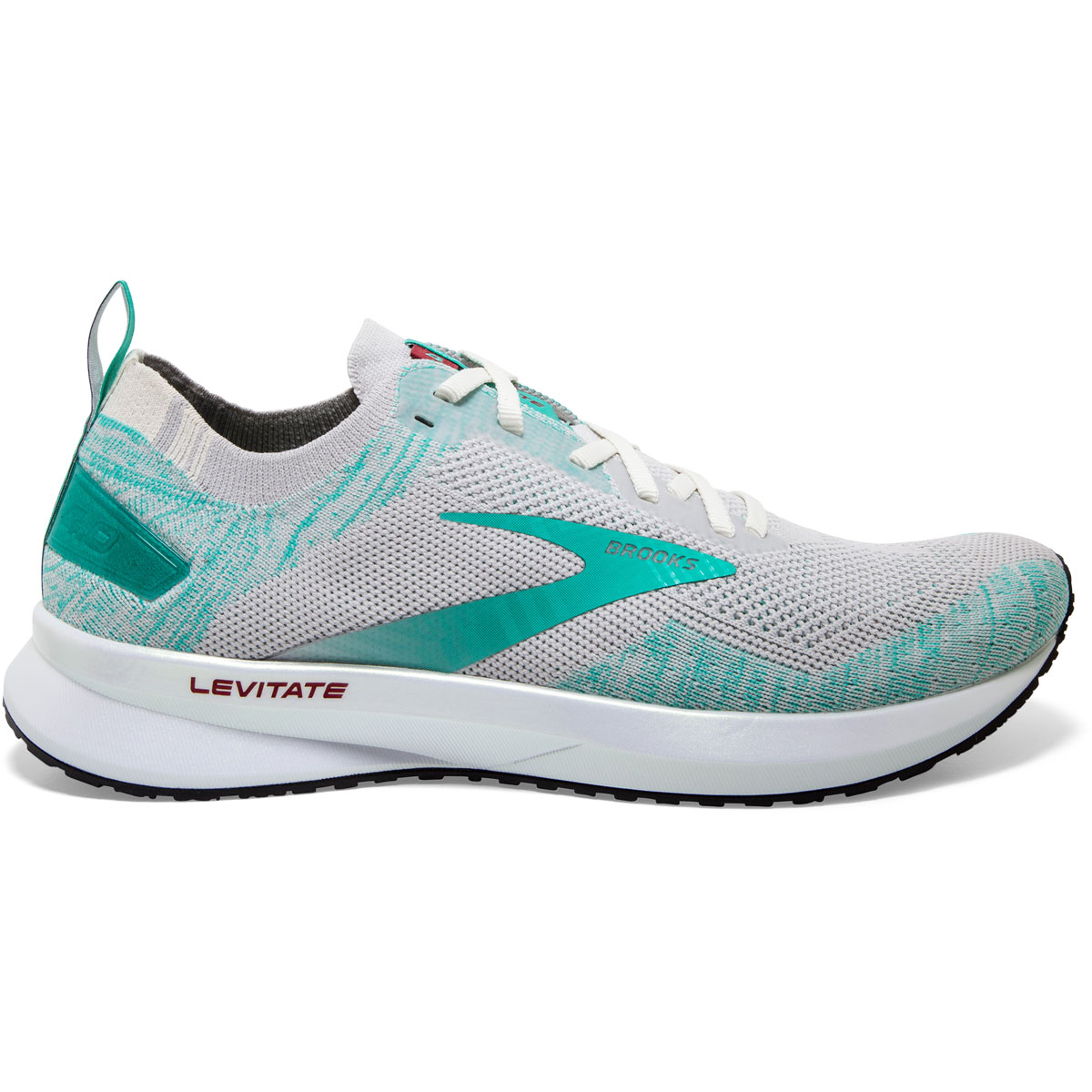 Women's Brooks Levitate 4 Running Shoe - Color: Antarctica/Atlantis/White - Size: 5.5 - Width: Regular, Antarctica/Atlantis/White, large, image 1